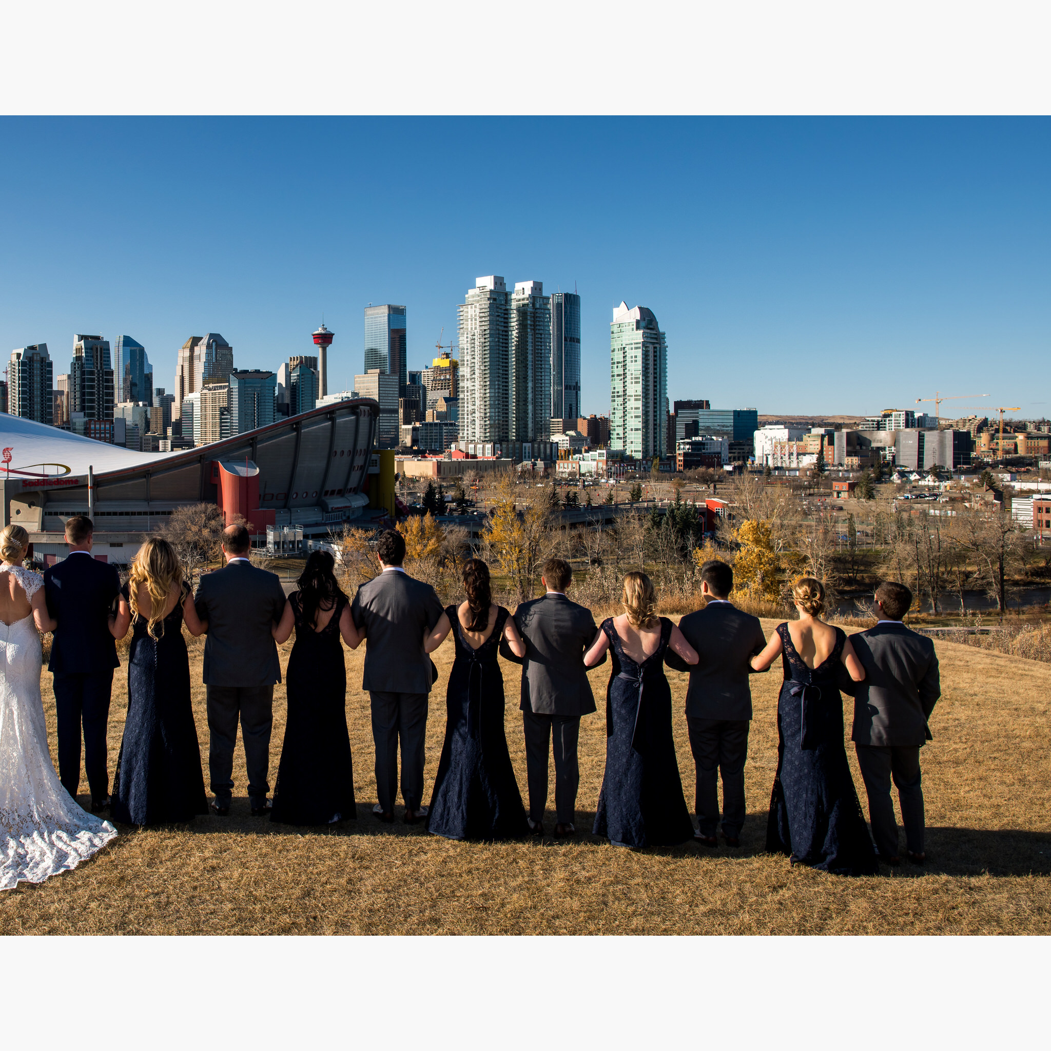 heirloom wedding album by calgary photographer sean leblanc