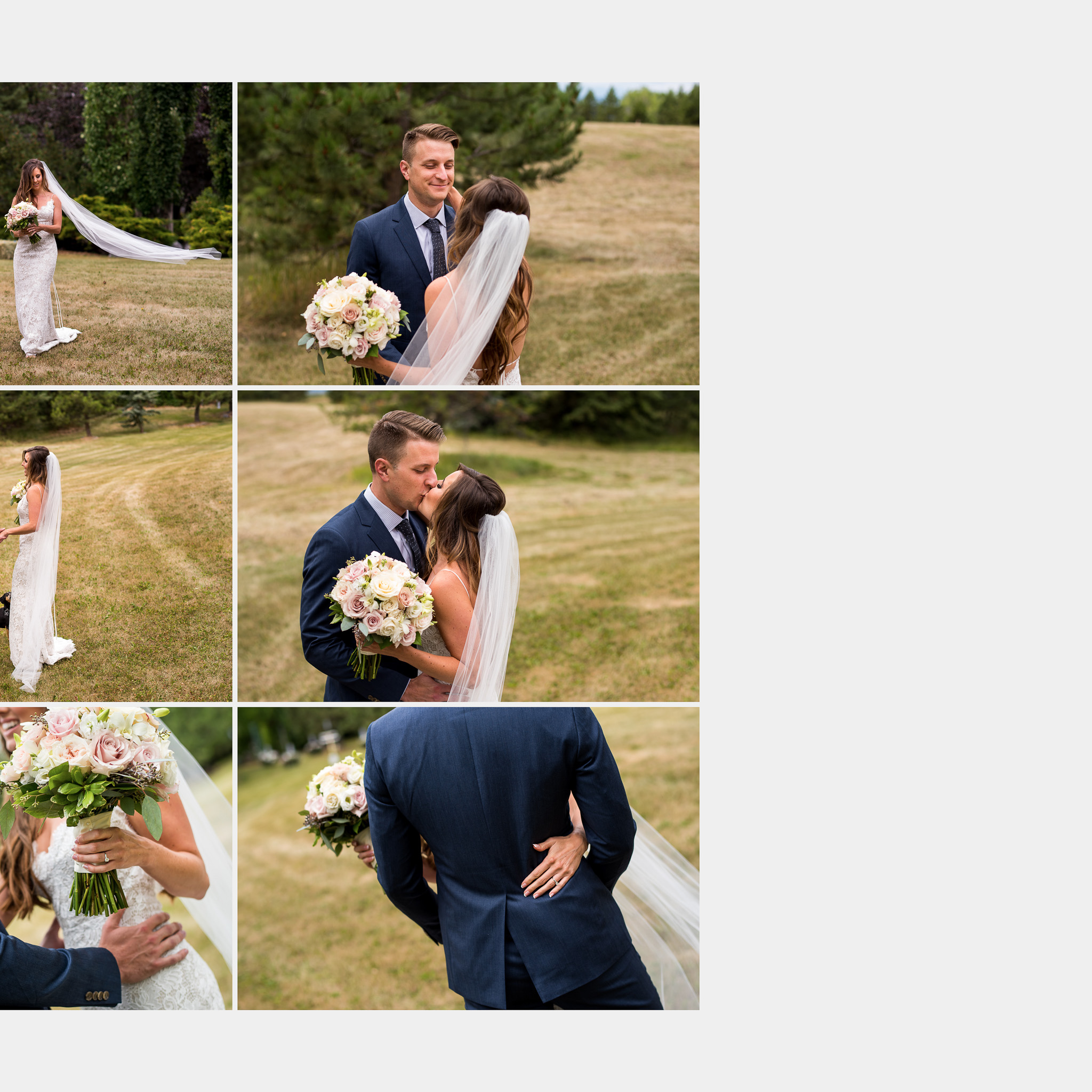 heirloom wedding album by priddis photographer sean leblanc
