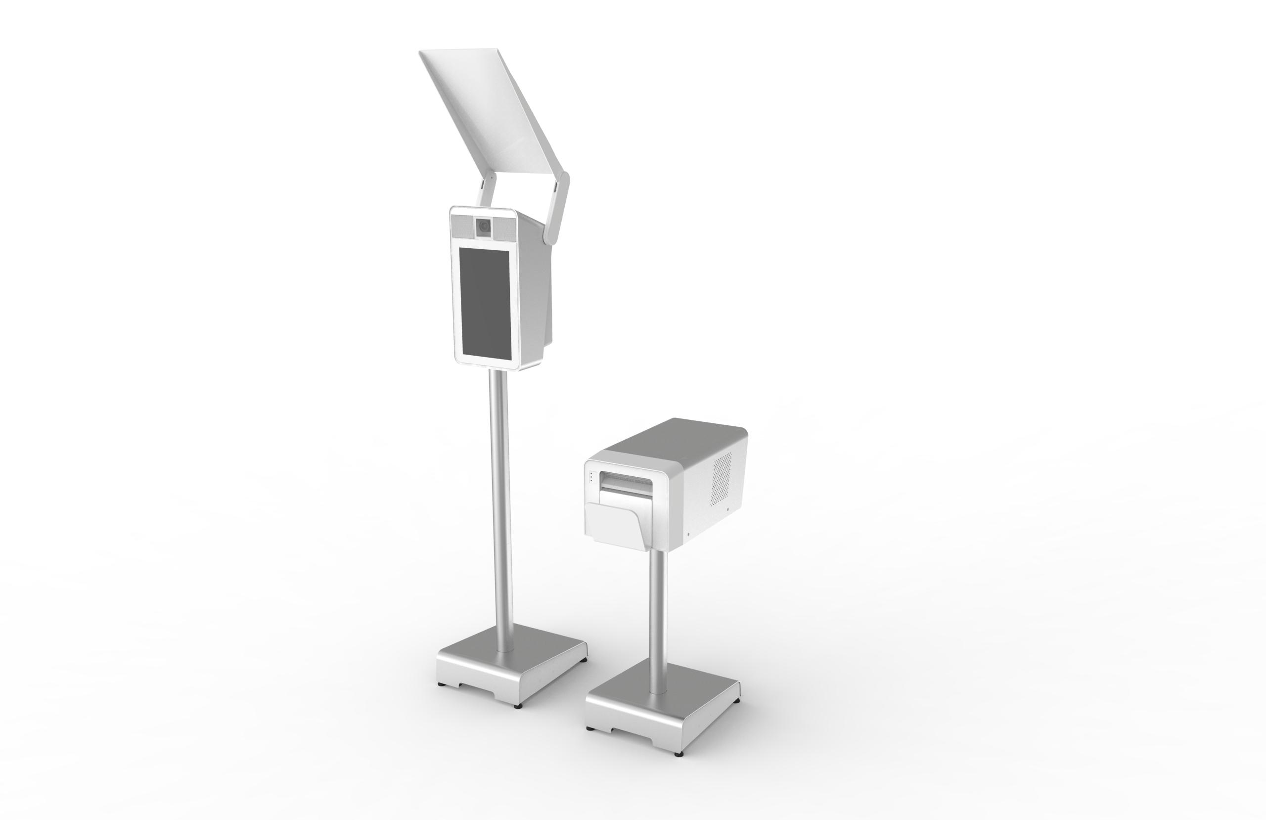 modern blanca photo booth