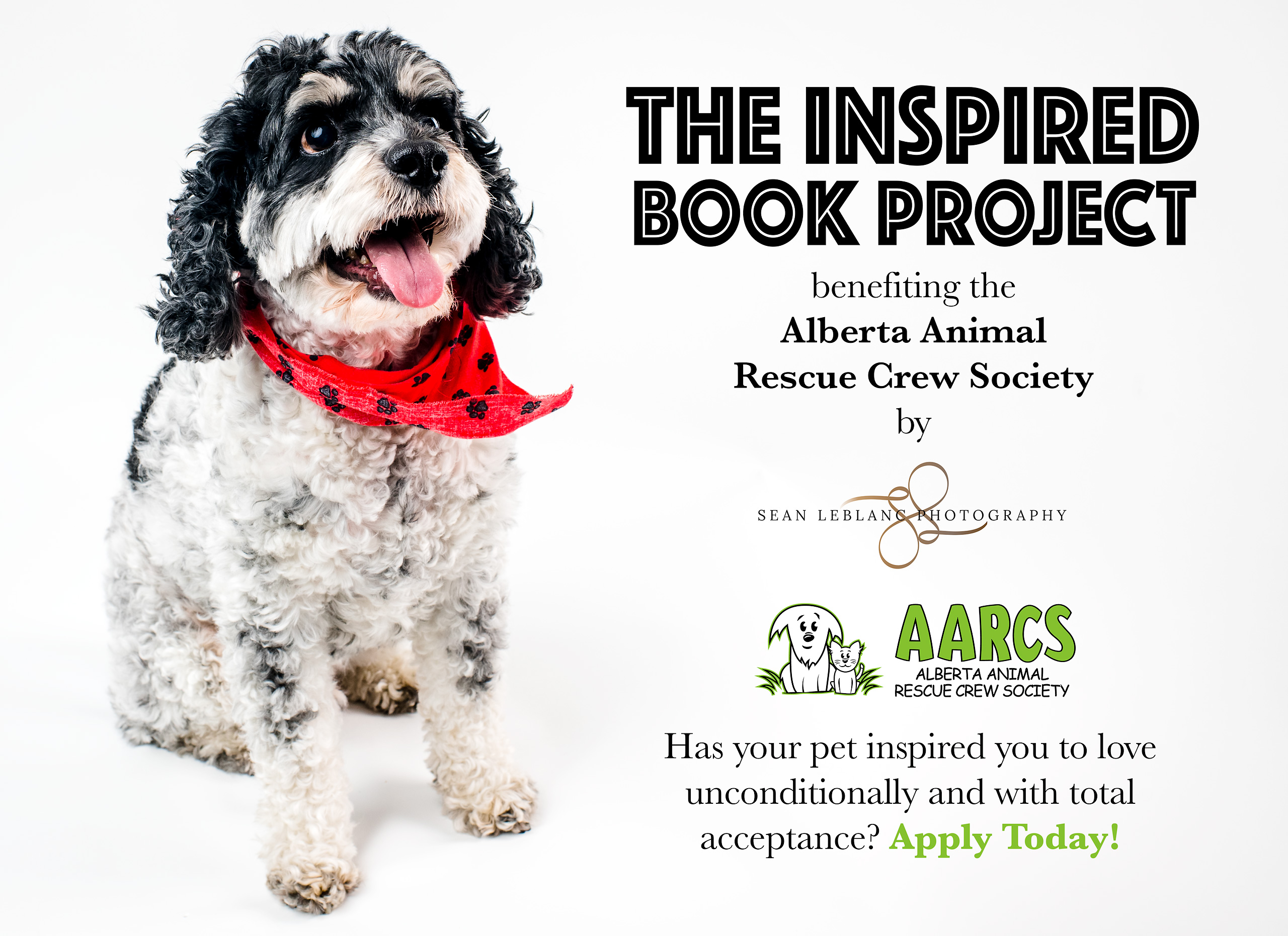 Inspired Book Project Alberta Animal Rescue Crew Society