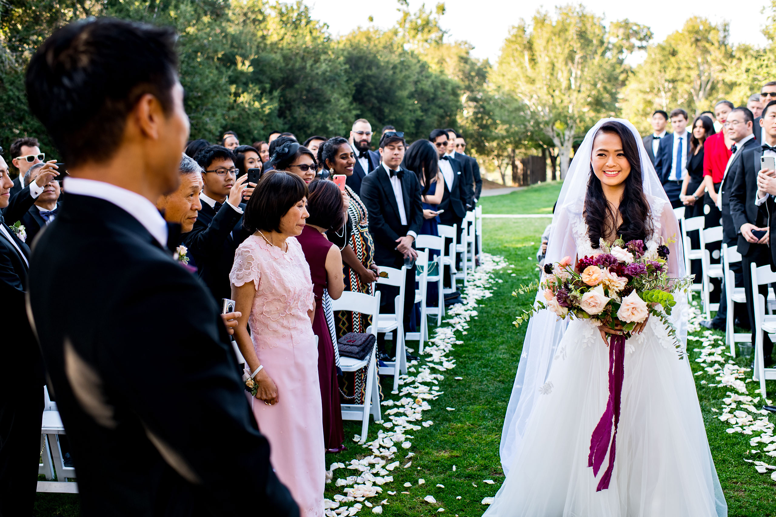 Ceremony by Carmel Valley Ranch Wedding Photographer Sean LeBlanc