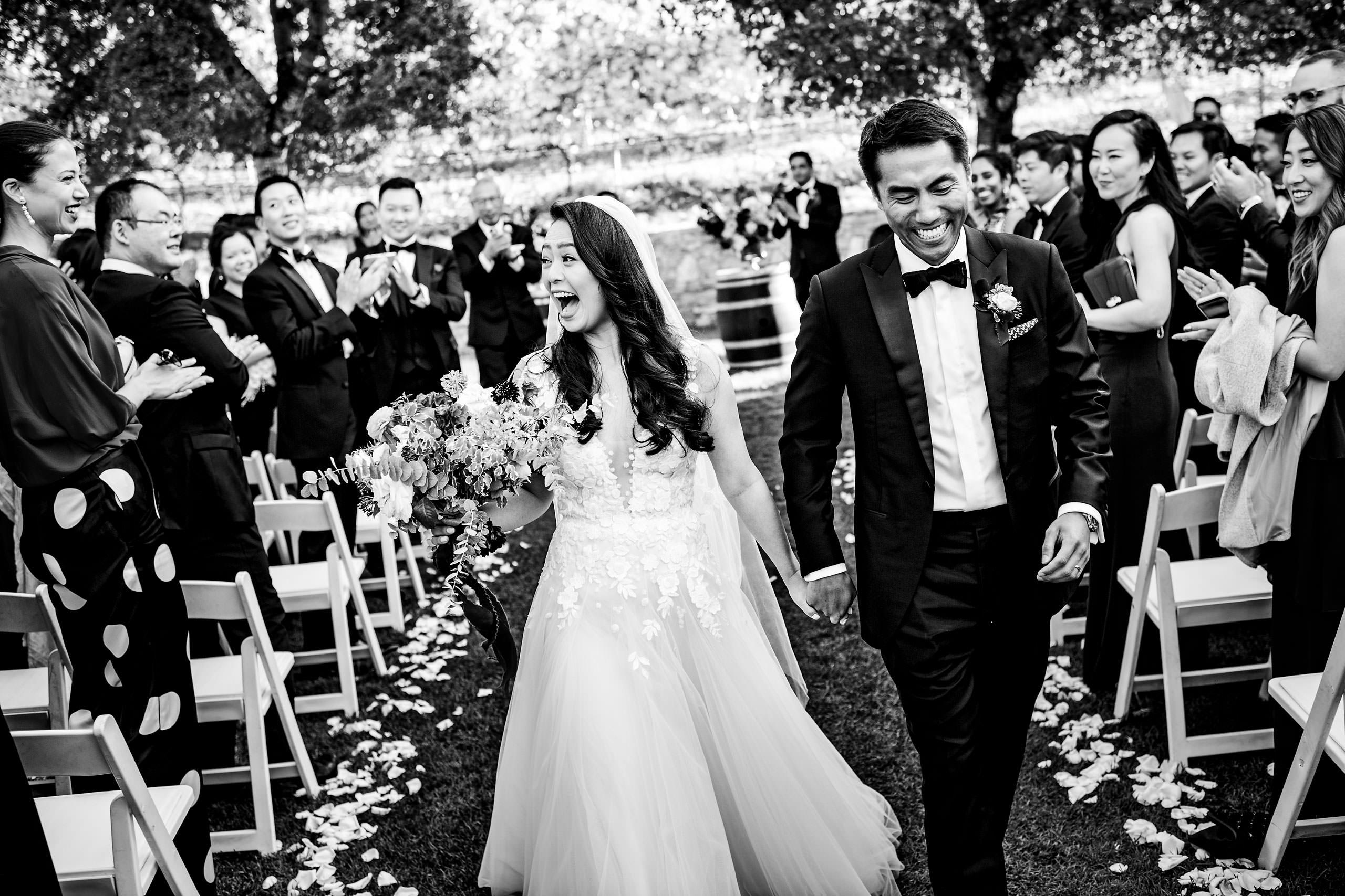 Ceremony by Carmel Valley Ranch Wedding Photographer Sean LeBlanc