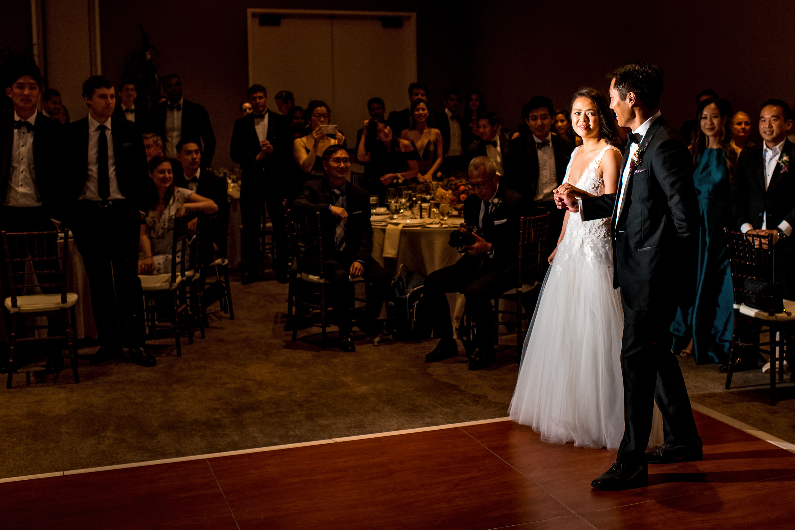 Reception moments by Carmel Valley Ranch Wedding Photographer Sean LeBlanc
