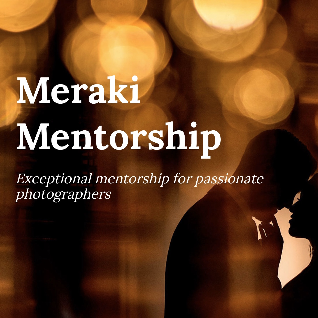 Exceptional mentorship for passionate photographers by Sean LeBlanc Photography