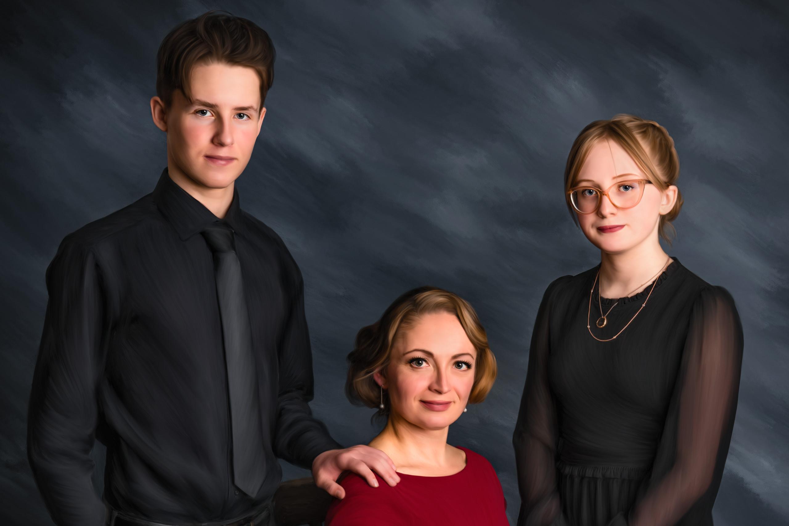Fine art family portraiture by Sean LeBlanc